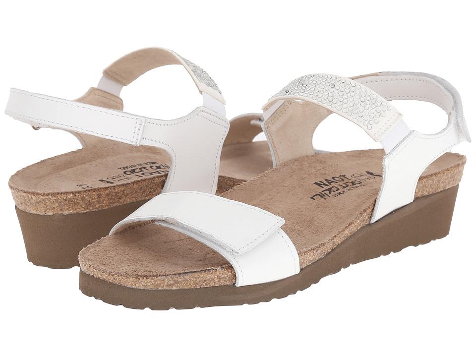 Naot Footwear - Lisa (White Leather) Women