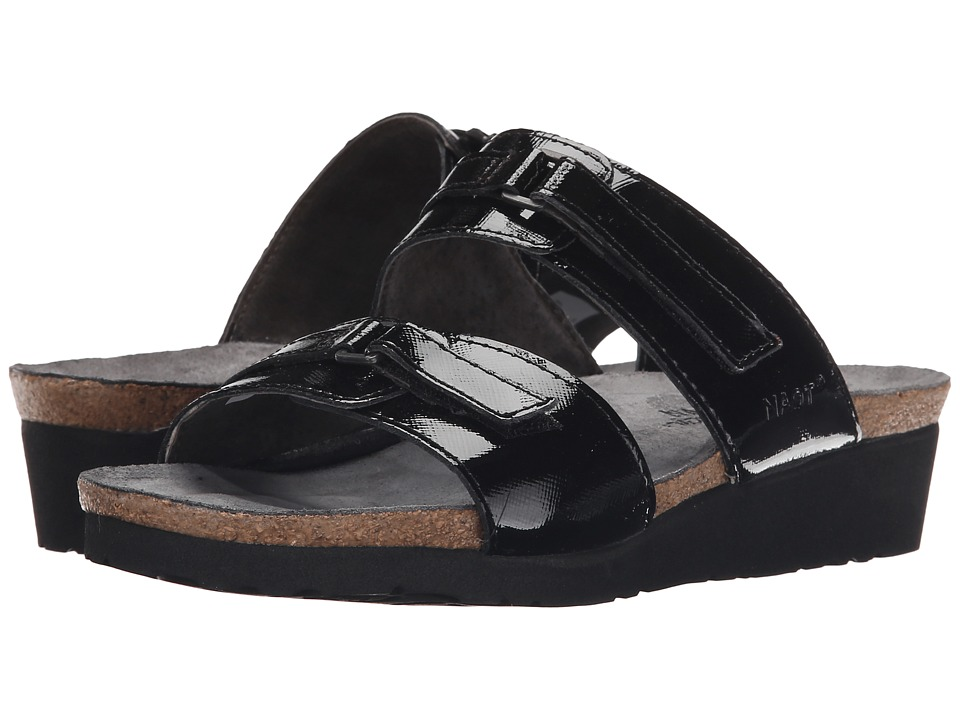 Naot Footwear Carly (Black Luster Leather) Sandals