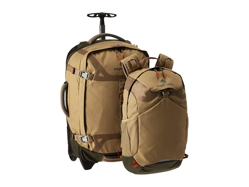 Eagle Creek - Doubleback 22 (Tan/Olive) Luggage