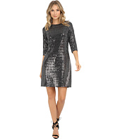 Jessica Howard - One-Piece Long Sleeve Shift Dress
