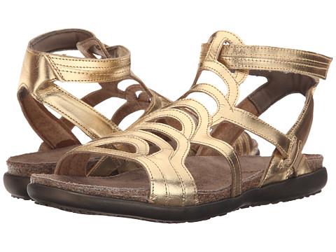 Naot Footwear Sara - Gold Leather