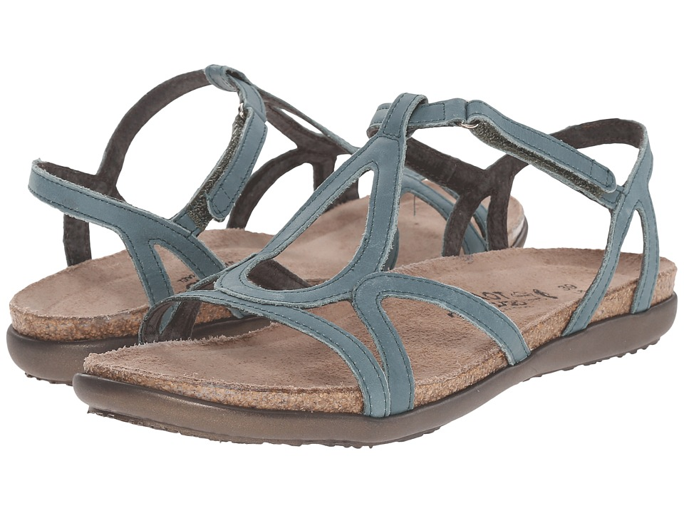 Naot Dorith (Sea Green Leather) Sandals