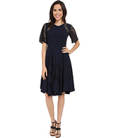 Rebecca Taylor - Crepe and Lace Dress