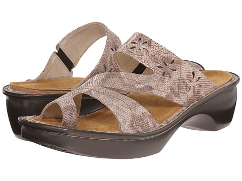 Naot Footwear Montreal - Beige Snake Leather