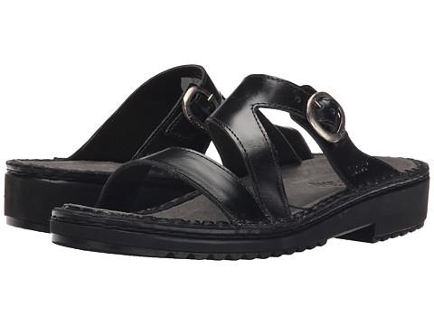 Naot Footwear Geneva - Black Madras Leather