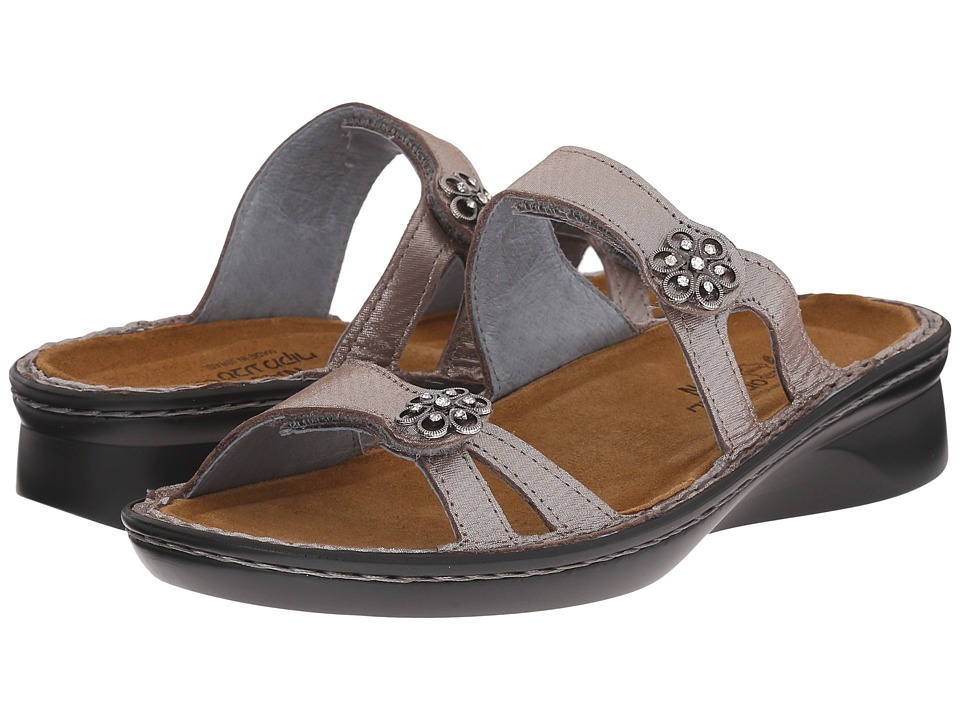 Naot Footwear - Melody (Silver Threads Leather) Women