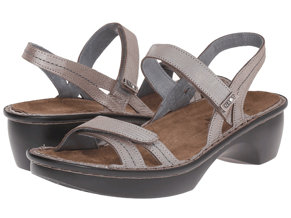 Naot Footwear Brussels Silver Threads Leather Womens Sandals