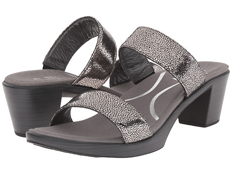 Naot Footwear Fate - Silver Pebble Leather