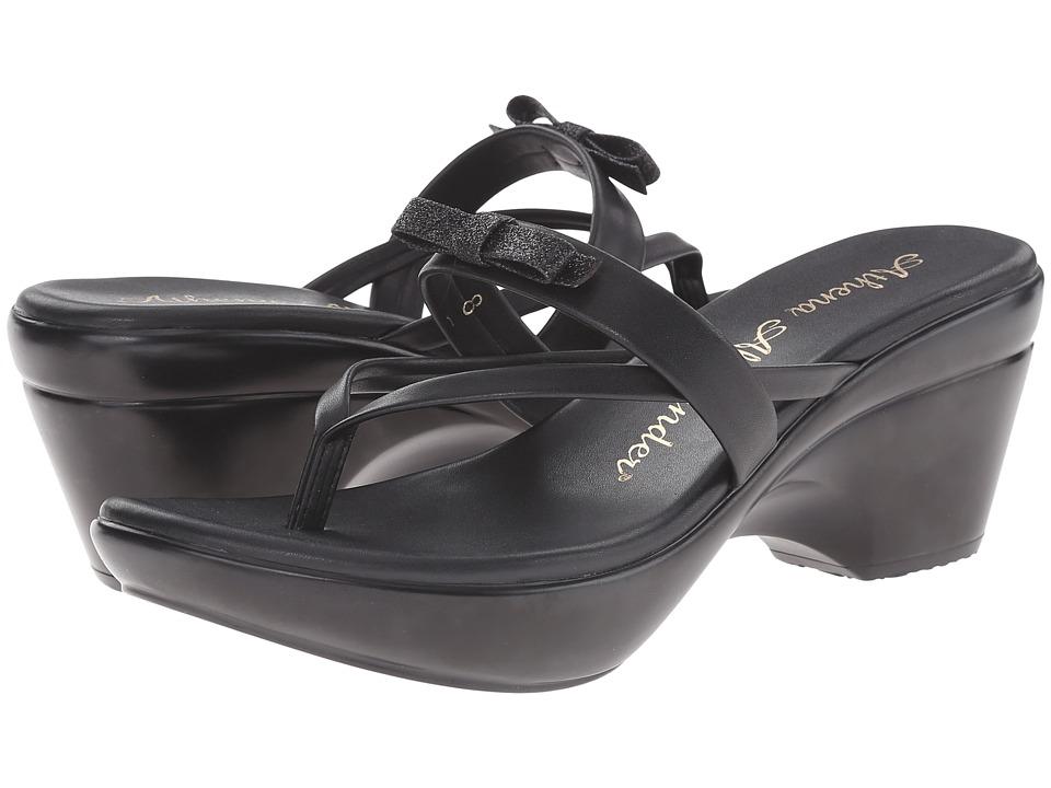 Athena Alexander Leon Black Womens Sandals