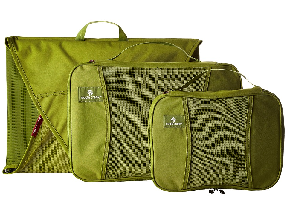 Eagle Creek Pack It Starter Set Fern Green Bags