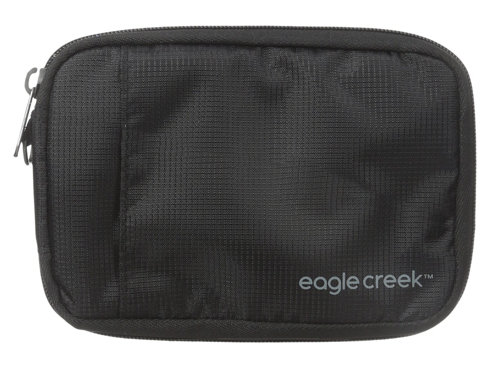 Eagle Creek - RFID Travel Zip Wallet (Black) Wallet Handbags