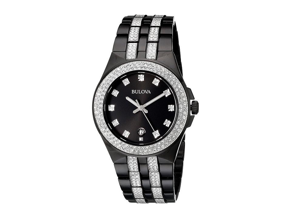 Bulova Crystal 98B251 Black Watches