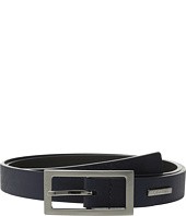 Calvin Klein - 26mm Embossed Haircalf Detail Belt