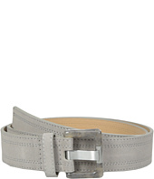 Calvin Klein - 38mm Suede Belt with Stitch Detail