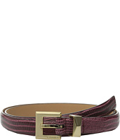 Calvin Klein - 20mm Embossed Lizard Belt