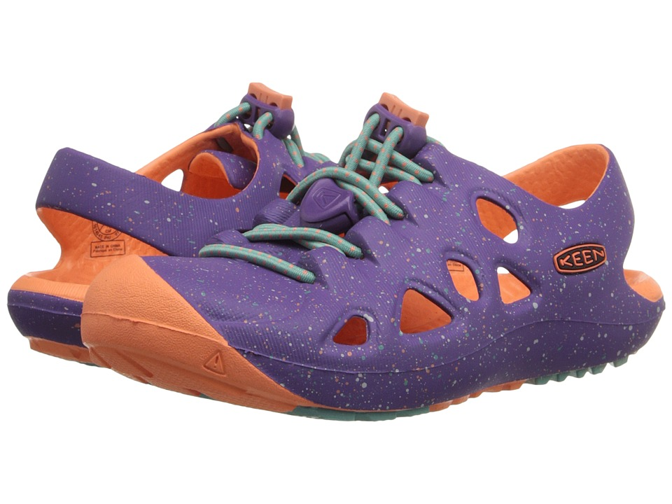 Keen Kids Rio (Toddler/Little Kid) (Purple Heart/Fusion Coral) Girls Shoes