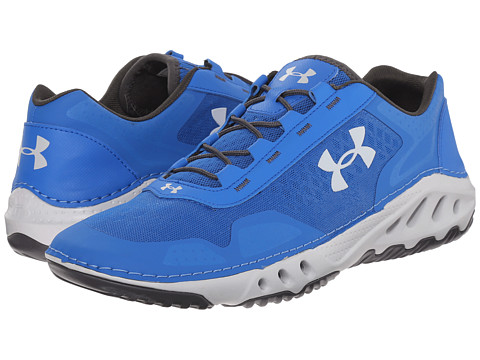 Under armour ua drainster superior blue charcoal elemental for Fish tennis shoes