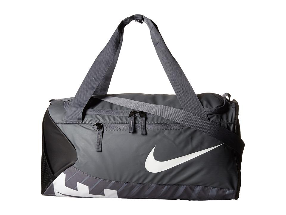 Nike - New Duffel Small (Flint Grey/Black/White) Duffel Bags