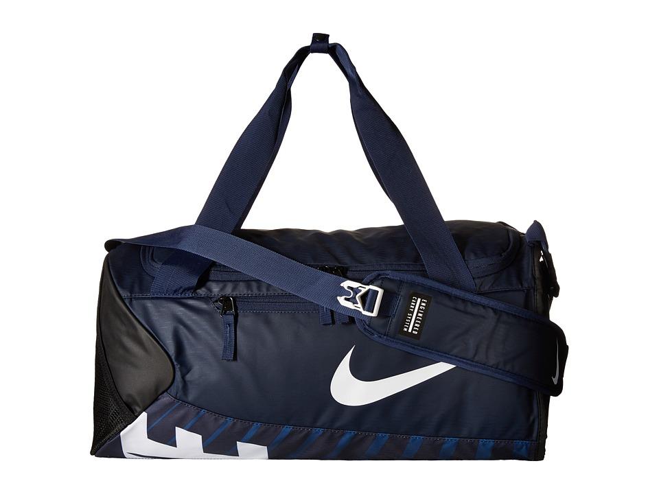 Nike - New Duffel Small (Midnight Navy/Black/White) Duffel Bags