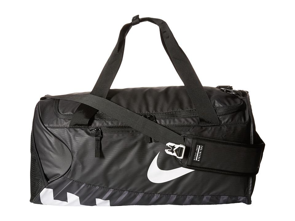 Nike New Duffel Medium (Black/Black/White) Duffel Bags