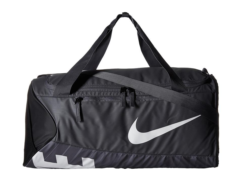 Nike - New Duffel Medium (Flint Grey/Black/White) Duffel Bags