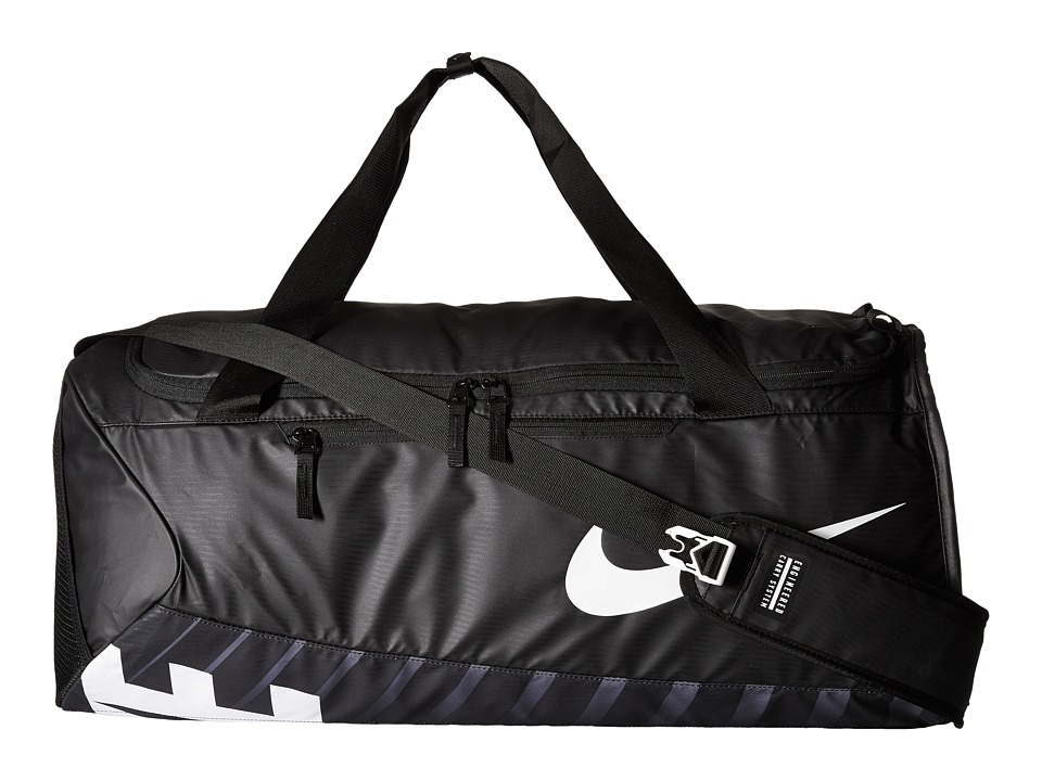 Nike - New Duffel Large (Black/Black/White) Duffel Bags