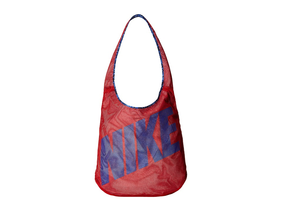 Nike Graphic Reversible Tote University Red/Obsidian/Deep Royal Blue Tote Handbags