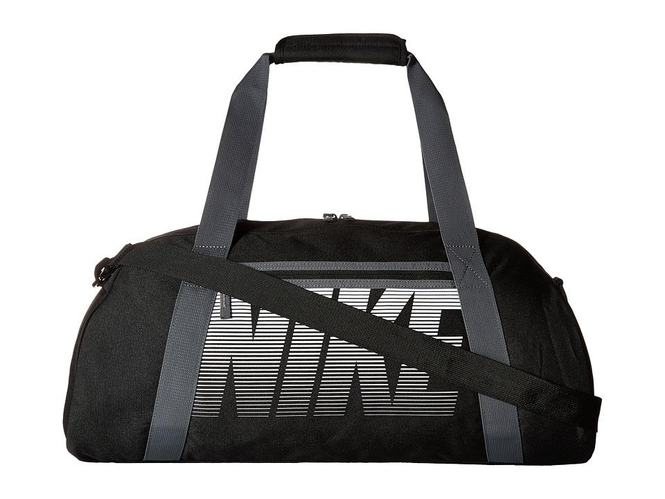 Nike - Gym Club (Black/Dark Grey/White) Duffel Bags