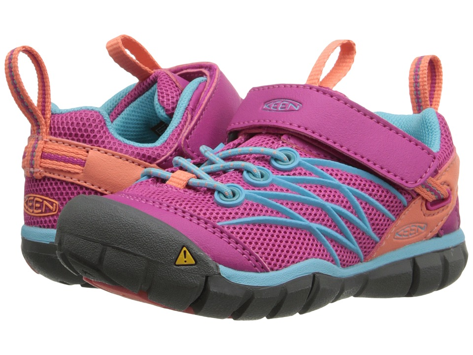 Keen Kids Chandler CNX AC (Toddler/Little Kid) (Very Berry/Capri) Girls Shoes
