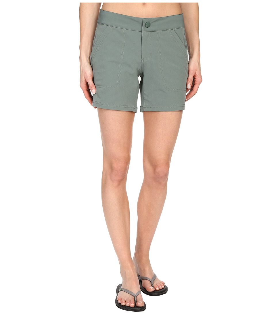 The North Face Amphibious Shorts Laurel Wreath Green Womens Shorts