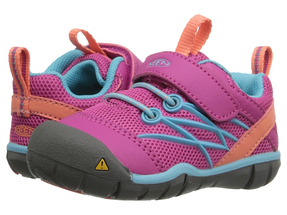 Keen Kids Chandler CNX (Toddler) (Very Berry/Capri) Girls Shoes