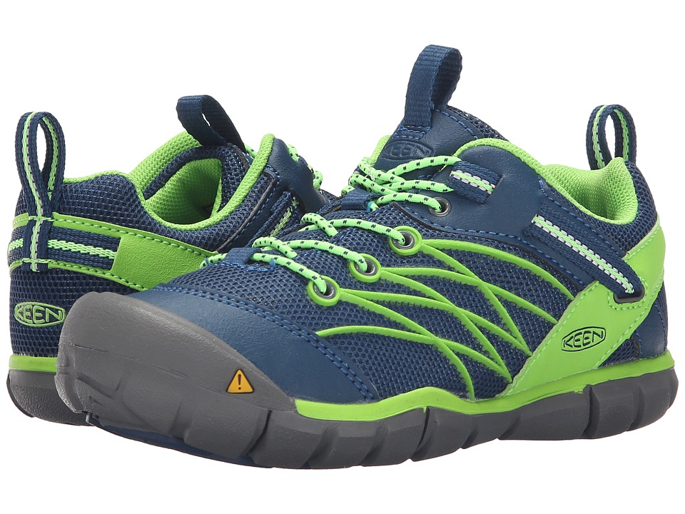 Keen Kids Chandler CNX Little Kid/Big Kid Poseidon/Jasmine Green Boys Shoes