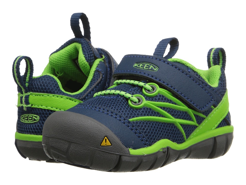 Keen Kids Chandler CNX (Toddler) (Poseidon/Jasmine Green) Boys Shoes