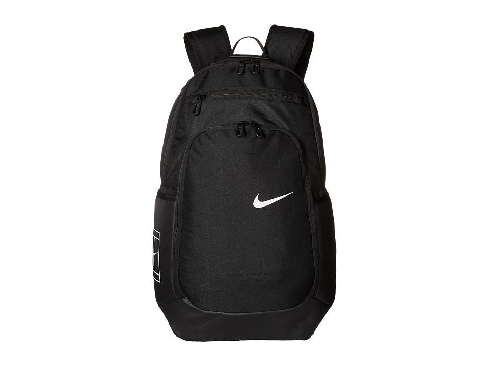 Nike - Tennis Backpack (Black/Black/White) Backpack Bags