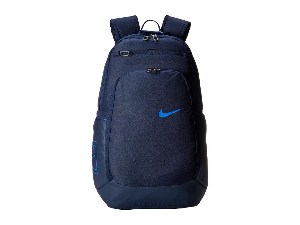 Nike - Tennis Backpack (Obsidian/Midnight Navy/Hyper Cobalt) Backpack Bags