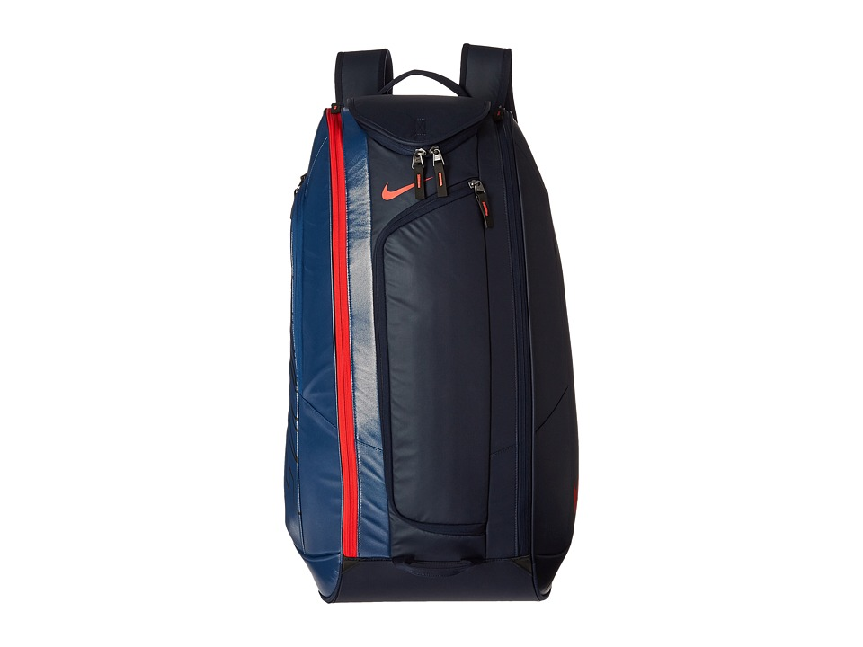 Nike - Court Tech 1 (Midnight Navy/Court Blue/Light Crimson) Backpack Bags