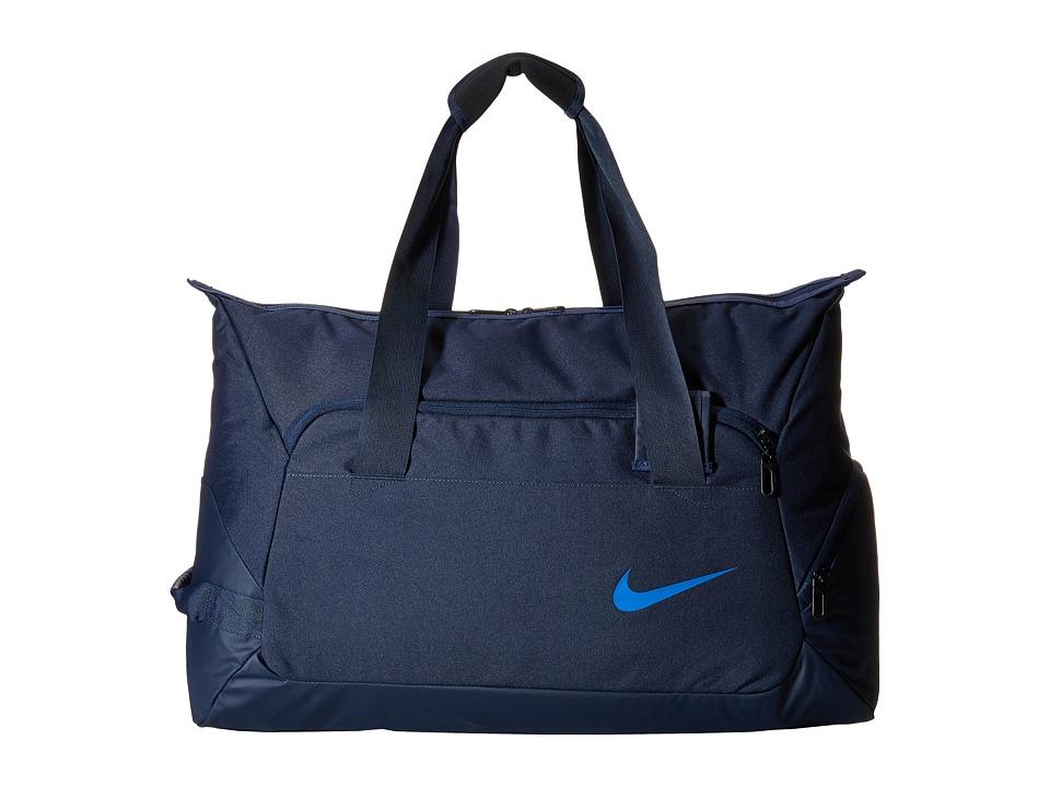 Nike - Tennis Duffel (Obsidian/Midnight Navy/Hyper Cobalt) Duffel Bags