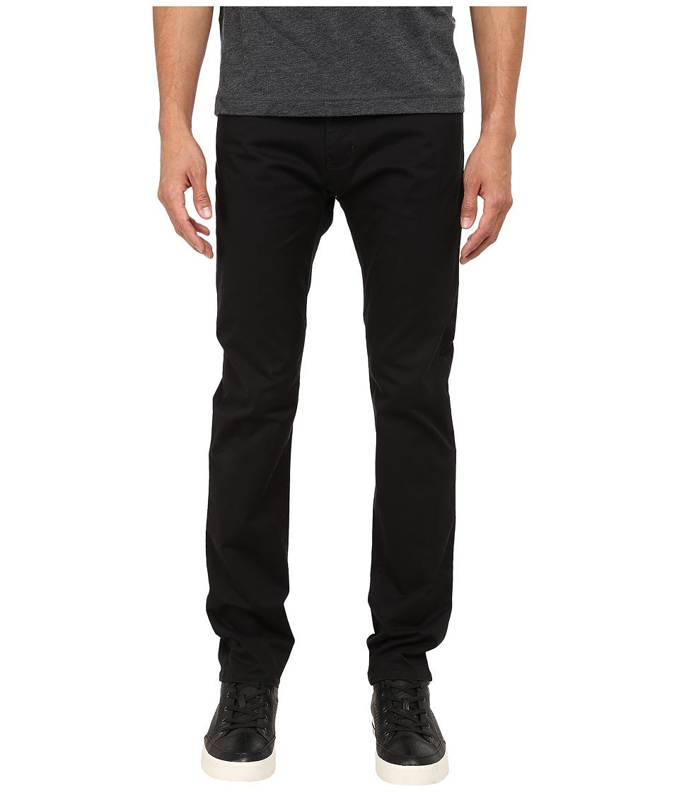Armani Jeans 5 Non Denim Pocket Pants Black Mens Casual Pants