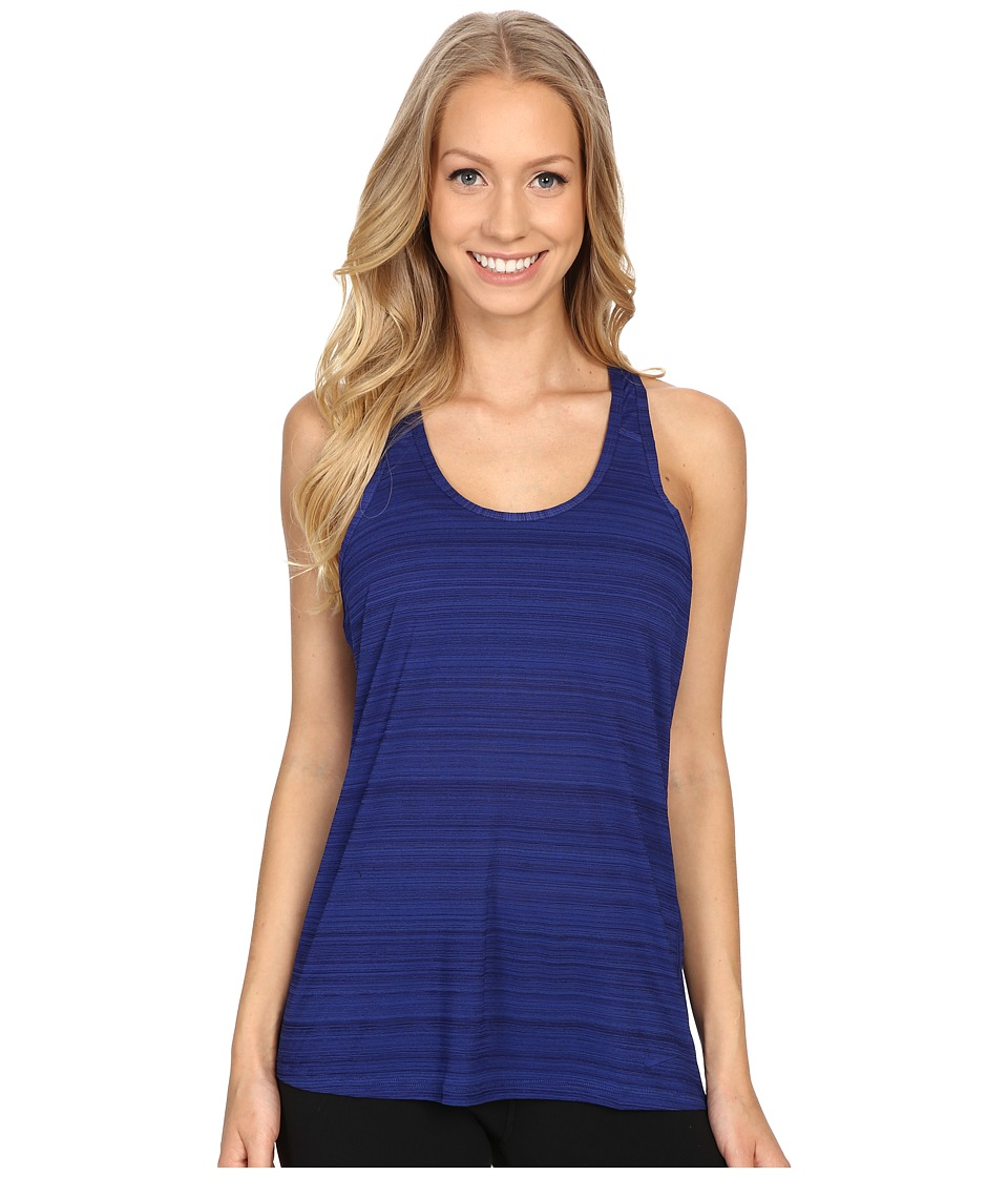 Nike Victory Tank Top Deep Royal Blue/Black/Deep Royal Blue Womens Sleeveless