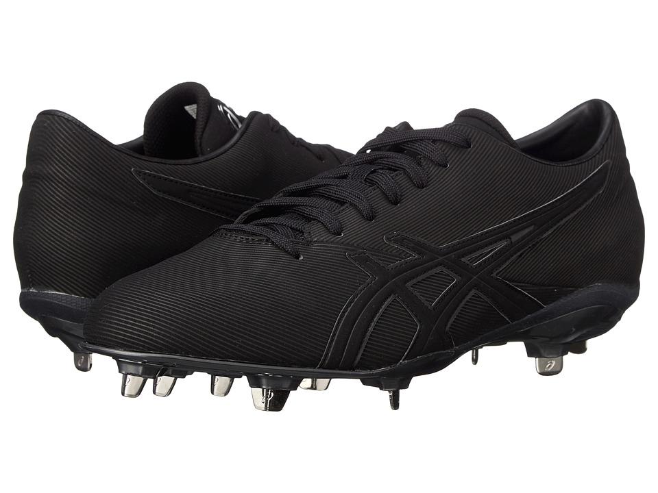 ASICS - Crossvictor LT (Black/Black) Mens Cleated Shoes