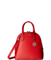 DKNY - Bryant Park - Saffiano Medium North-South Round Satchel w/ Detachable Shoulder Strap
