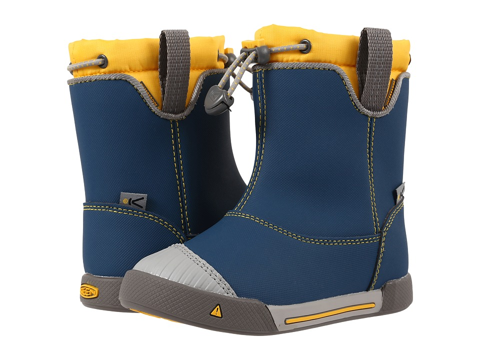 Keen Kids - Encanto 365 Boot WP (Toddler/Little Kid) (Poseidon/Keen Yellow) Boys Shoes