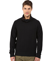 BOSS Orange - Wawy Structured Terry Shawl Collar Sweatshirt with Button Detail