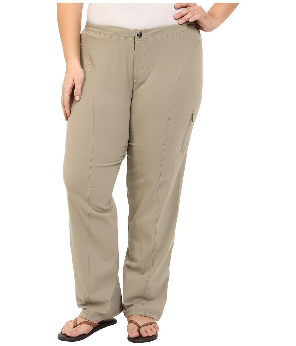 Columbia Plus Size Just Righttm Straight Leg (Tusk) Women...