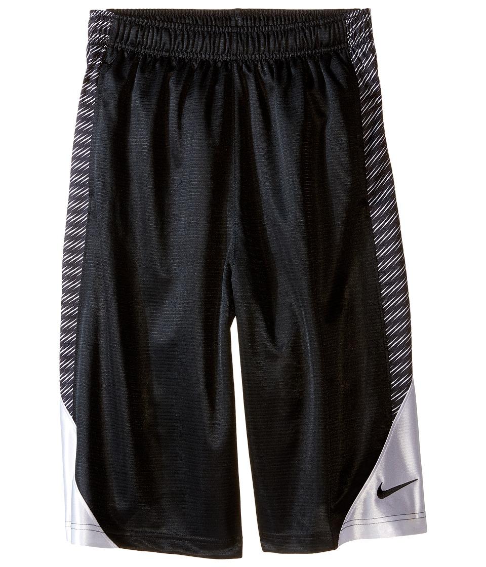 Nike Kids Avalanche Aop6 Shorts Little Kids/Big Kids Black/White/White/Black Boys Shorts