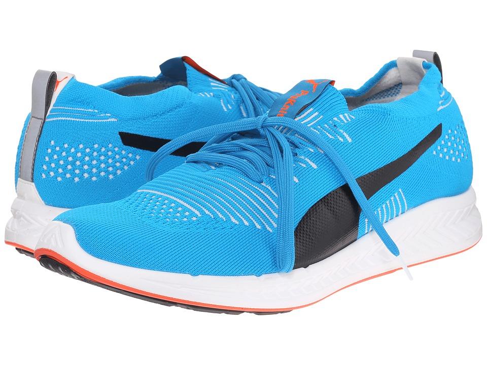 PUMA - Ignite ProKnit (Atomic Blue/White/Red Blast) Mens Running Shoes