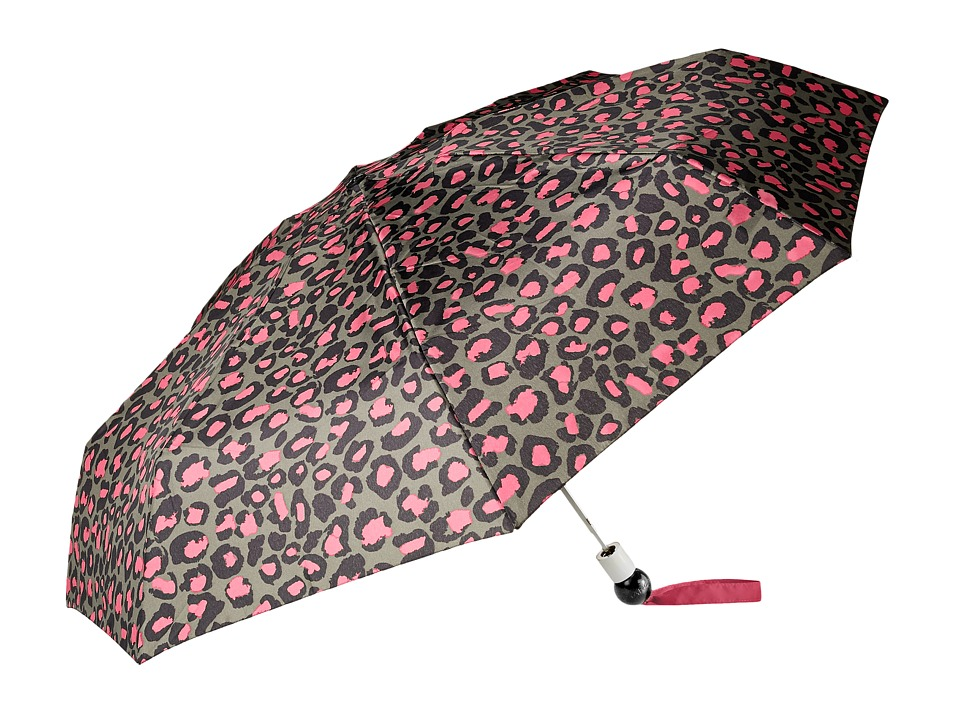 Marc by Marc Jacobs Painted Leopard Umbrella Raspberry Sorbet Multi Umbrella