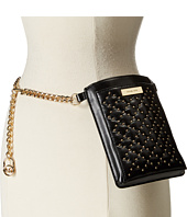 MICHAEL Michael Kors - Smooth Belt Bag with Embossed Quilt and Stud Detail