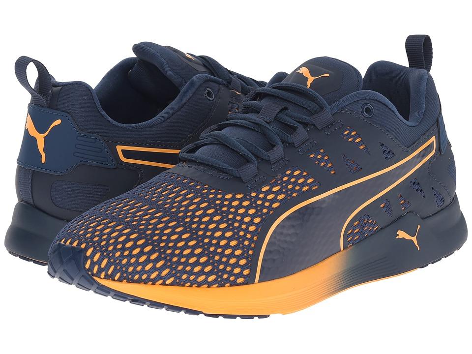 PUMA Pulse XT v2 Blue Wing Teal/White/Orange Pop Mens Running Shoes