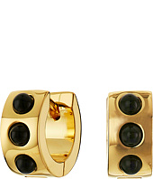 Marc by Marc Jacobs - Cabochon Hinge Huggie Earrings